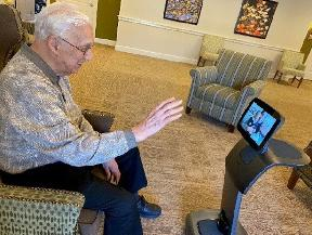 Senior Housing Rushes to Adopt Robots Telehealth to Protect Residents
