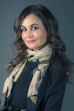 Mitra Esfandiari.
