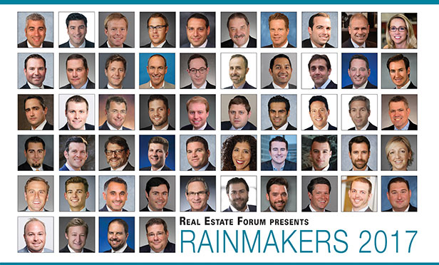 Real Estate Forum's Rainmakers 2017
