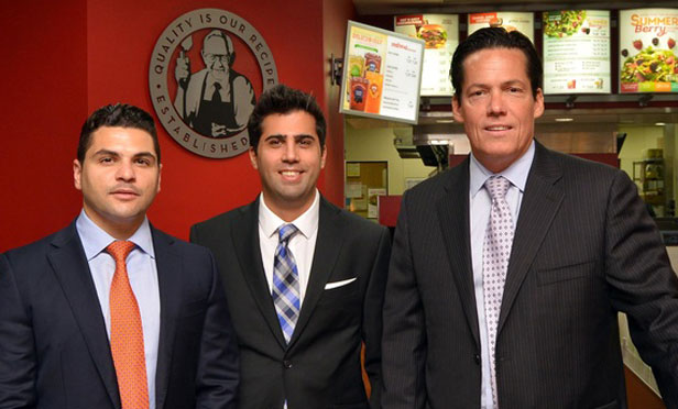 Brokers Find Niche With Fast Food Chain
