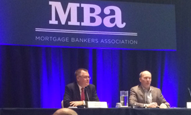 "The ""CMBS—What You Need to Know"" panel at MBA's CREF/Multifamily Housing Convention and Expo 2017."