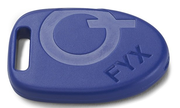 A Bluetooth-enabled beacon