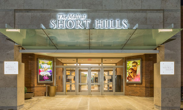 Mall at Short Hills entrance