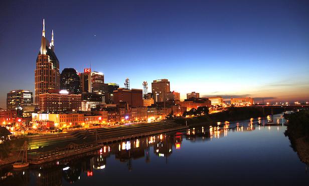 Skyline of Nashville