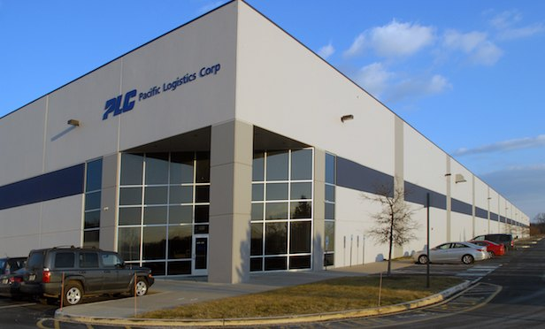 Exterior of distribution center