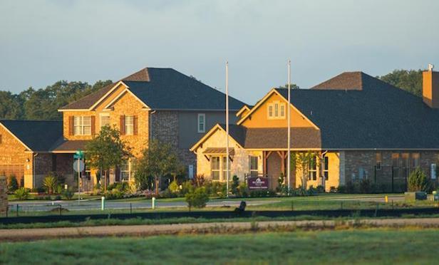 Photo of residential development