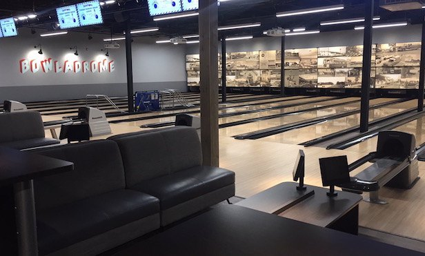 Photo of bowling alley