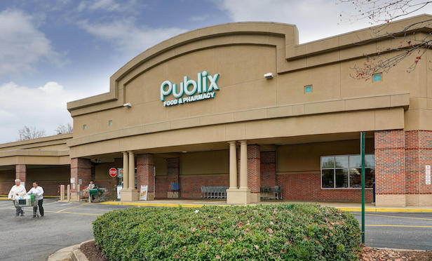 Exterior of Publix supermarket
