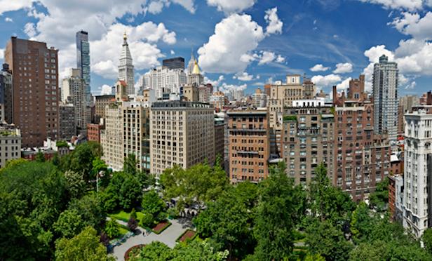 Skyline of Gramercy Park