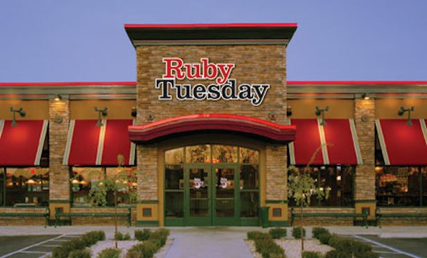 Exterior of Ruby Tuesday