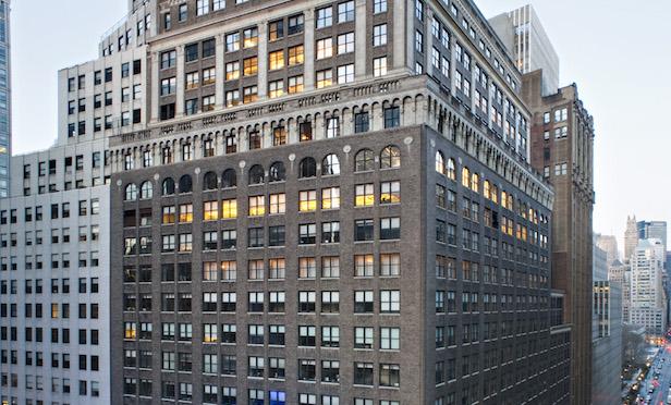 Exterior of 1440 Broadway
