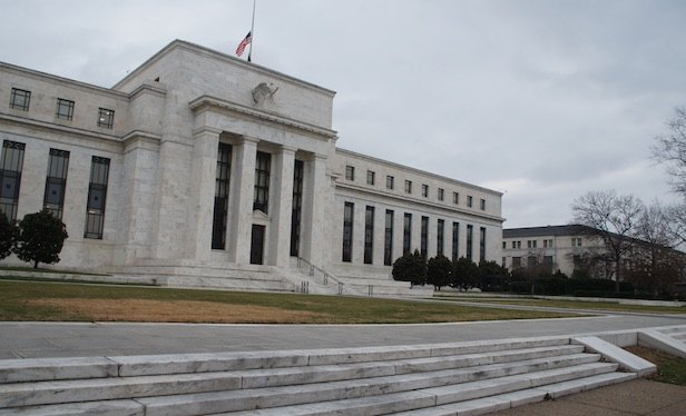 The Federal Reserve Bank in Washington DC