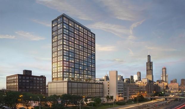 West Loop Luxury Tower Starts Pre-Leasing