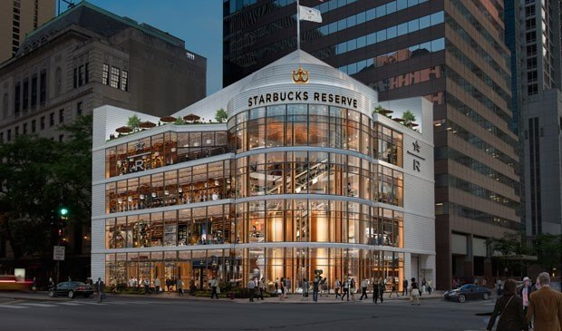 Four-Story Starbucks Coming to Mag Mile
