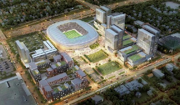 New Stadiums Spurring Development