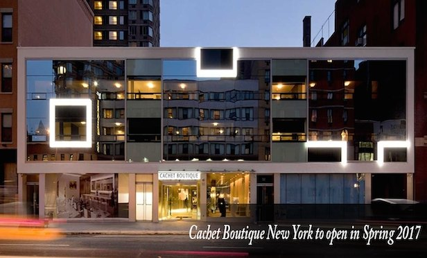 A rendering of the Cachet Boutique New York Hotel that will include a new Playboy Club.