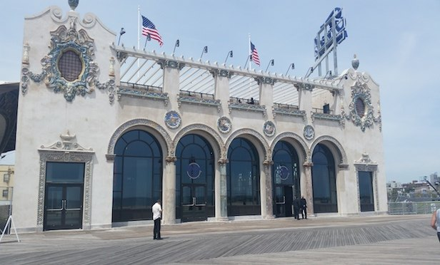 The restored Childs Building on the Coney Island Boardwalk in Brooklyn. Source: NYCEDC