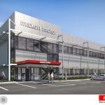 Rendering of Maxon Precision Motors headquarters