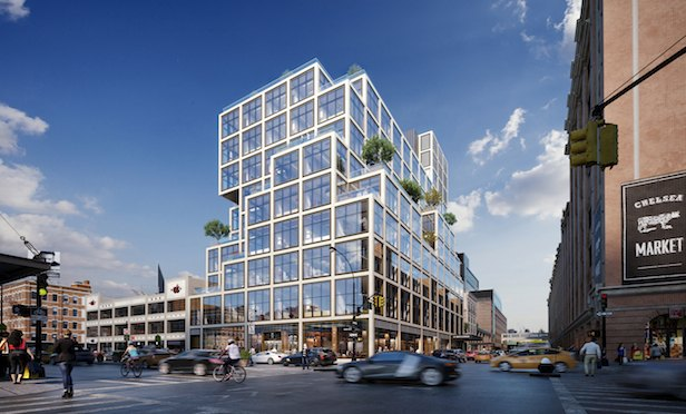 Aetna wil be occupying 145,000 square feet at 61 Ninth Ave. in late 2018.