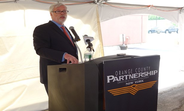 Patrick Foye visited Stewart International Airport in Newburgh, NY in 2015 as executive director of the Port Authority of New York and New Jersey.