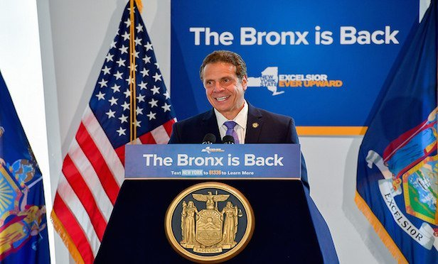 Governor Gives the Bronx Some Cheer