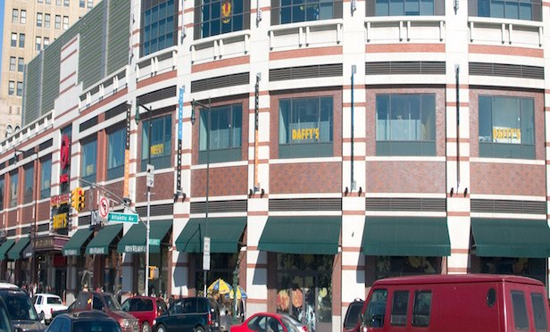 Madison International Realty is considering redeveloping the Atlantic Terminal Mall (above) and adjoining Atlantic Center in Brooklyn.