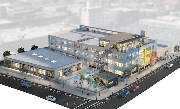 The Breeze in East Williamsburg will feature 100,000 square feet of office and retail space.