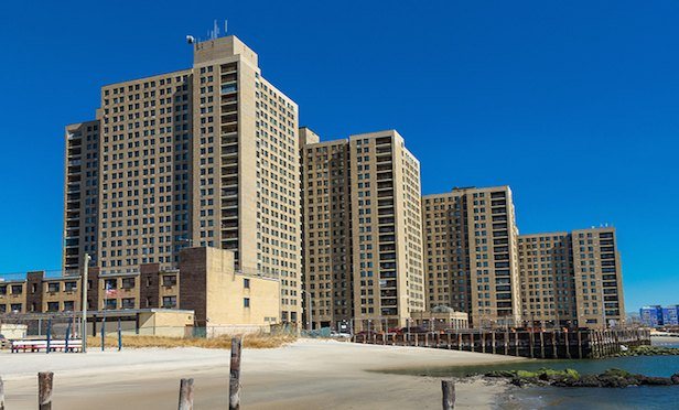 The Sandcastle Apartments complex in Far Rockaway features 916 units.