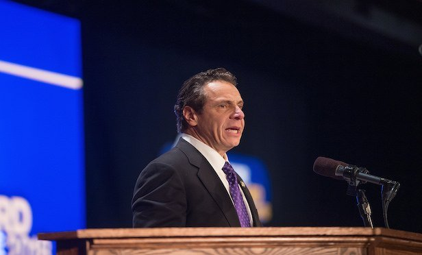 "Gov. Andrew Cuomo delivered his ""State of the State"" address in Albany on Wednesday."