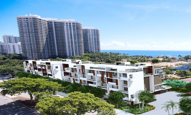 The 30 Thirty North Ocean project offers six three-bedroom, three-and-one-half bath floor plans ranging in size from 2,100 square feet to 2,400 square feet. The units are priced from $1.2 million to $1.55 million.