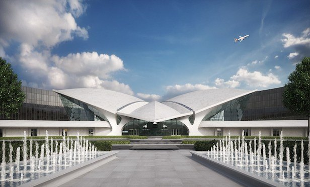 Twa flight center hotel project lands 230m construction for Hotels near jf kennedy airport