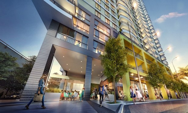 New River Central will feature 401 luxury rental units, 5,500 square feet of retail space, 20,000 square feet of amenities and a nine-story parking structure with 477 spaces.