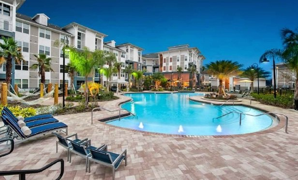 Alexan Crossroads is a 314-unit garden apartment property in South Orlando.