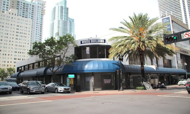 The White Building at 201 E. Flagler St. in Downtown Miami.