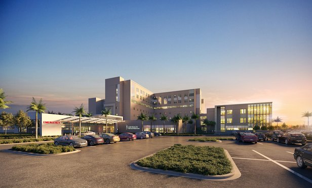 The expansion and renovation of the Gulf Coast Medical Center will add three floors consisting of 216 patient rooms and 52 intensive care unit rooms to the complex.