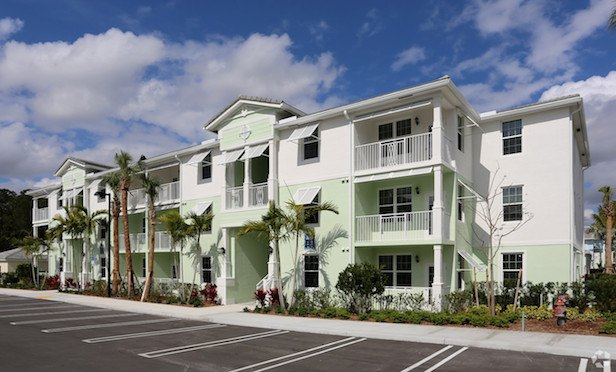 The 184-unit High Ridge Landing is located at 3609 High Ridge Way in Boynton Beach, FL.