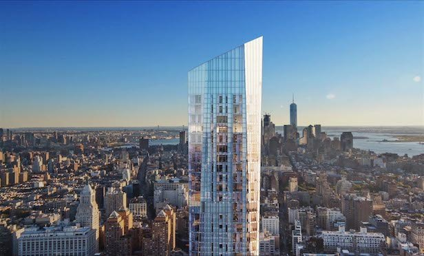 The 65-story Madison Square Park Tower at 45 East 22nd St.
