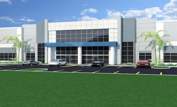Gateway Commerce Center in Miami Gardens at full build-out will total 850,000 square feet of industrial space.