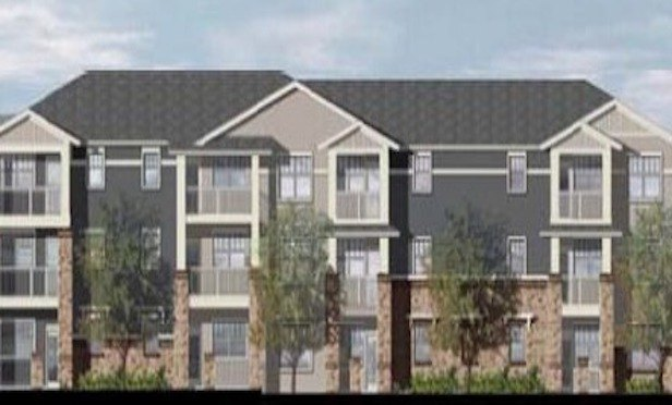 The borrower— Caldwell Station NC, LLC—is developing a Class A-20-building project that will feature mostly garden-style apartments, mixed with some for-rent townhomes.