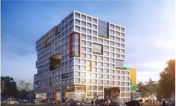 Conceptual rendering drawing of Wynwood Gateway development. Source: Metro 1