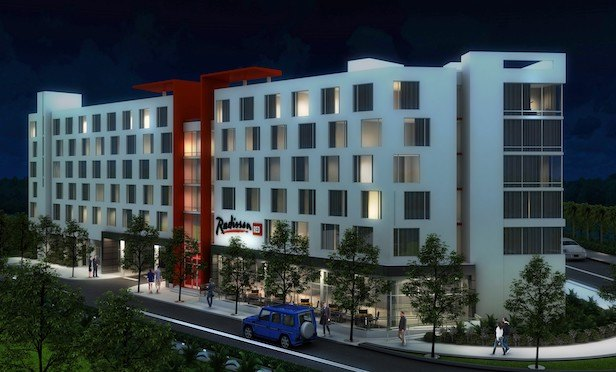 Construction of the hotel, which will be the first Radisson RED built in Florida, is expected to be complete by the second quarter of 2019.