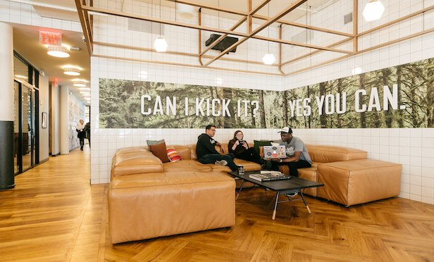 WeWork has more than 50 locations in New York City.