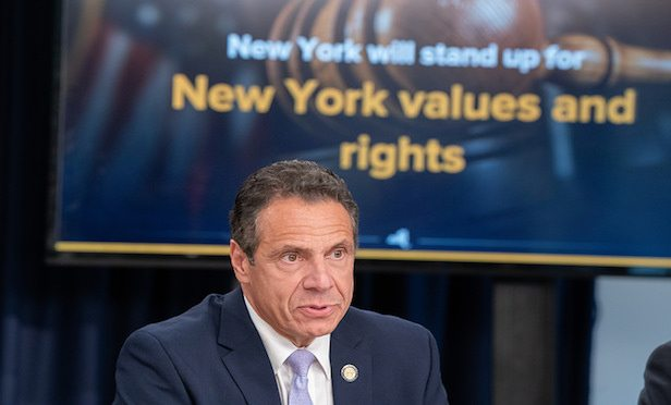 Gov. Andrew Cuomo bristled at the Trump Administration's plan for a $100-billion tax cut, which he charges would chiefly benefit the nation's wealthiest 1%.