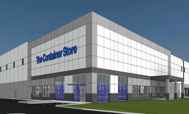 MRP will construct a 600,000-square-foot building that is expandable to 700,000 square feet to serve as the east coast distribution facility for The Container Store.