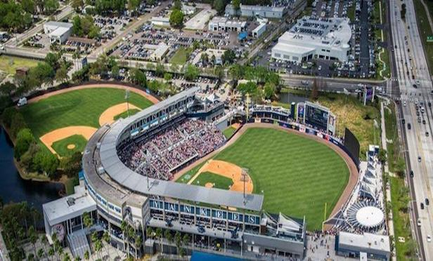 The New York Yankees posted the highest per game average (9,882 fans) that attended 16 games at George M. Steinbrenner Field in Tampa.