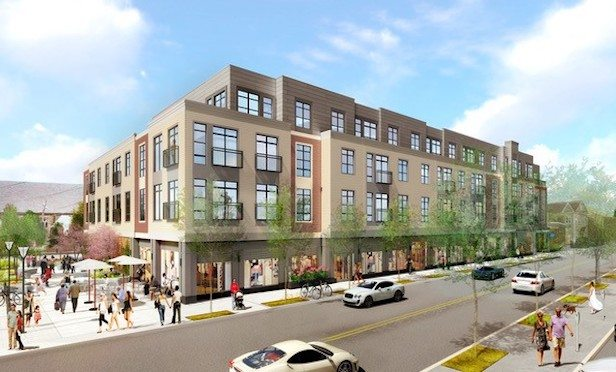 Rendering of 28 Austin St. Apartments. Credit: Stantec