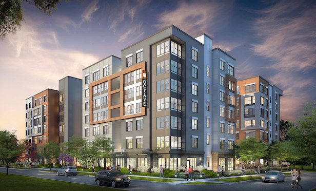 The Octave will be a two-building, 538-bed student housing complex located at 210 South Fourth St. in Champaign, IL.