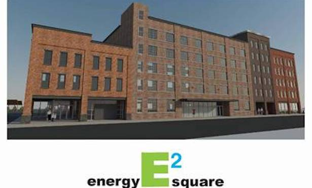 Energy Square will be constructed on the 1.3-acre site of the former Mid City Lanes bowling alley at 20 Cedar St. in Kingston, NY.
