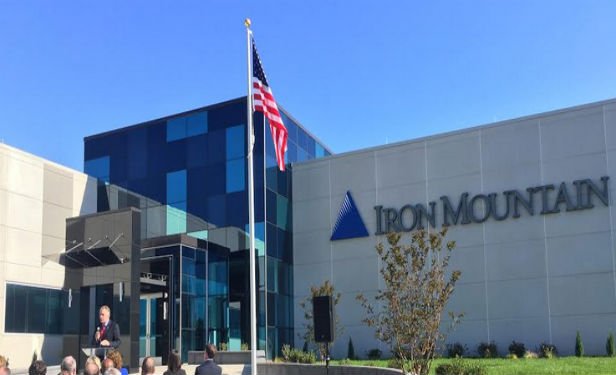 Iron Mountain's 165,000 square-foot, 10.5-megawatt multi-tenant and cloud facility in Manassas, VA that opened last year.