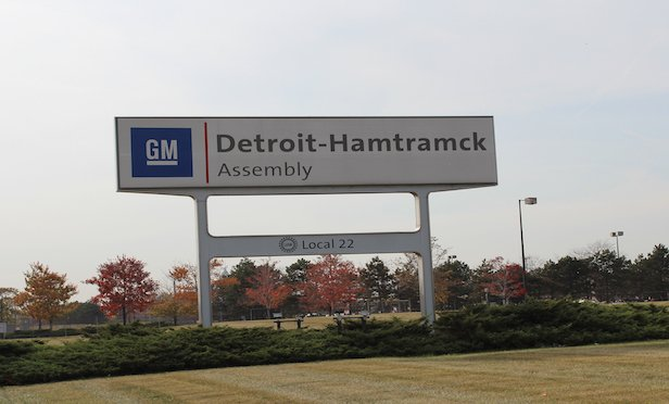 GM says it will halt production in 2019 at the Detroit-Hamtramck Assembly in Detroit .